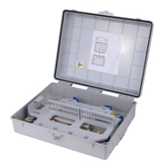 Fiber Optical Demarcation Closure 48 Core, Fiber Optical Demarcation Box, Fiber Optic Cable Demarcati