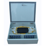 Indoor Fiber Optic Distribution Boxes with Optical Splitter 16 Core, Floor PLC Boxes, Wall Mounted OD