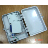 Outdoor FTTH Box with PLC Splitter 1:16, Optical Fiber Distribution Box with PLC, Fiber Optic Splitte