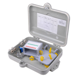 Outdoor Fiber Optic Distribution Box with PLC Splitter, Outdoor FTTH Box with 16 Core Optical Splitte