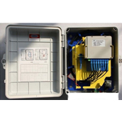 Optical Fiber Distribution Boxes with PLC 1:16, Outdoor FTTH Box with PLC Splitter, Fiber Optic Split