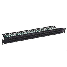 Cat5e/Cat6 Patch Panel, 19 Inch UTP FTP Network Patch Panels