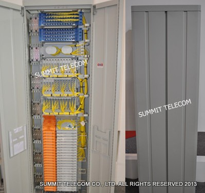 High Density Optical Fiber Distribution Frame With Plc