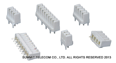 Pcb Idc Connector Lsa Idc Module Summit Telecom